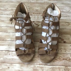 Sole Society wedged sandals